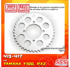 SSS REAR SPROCKET STEEL Y100 415-41T