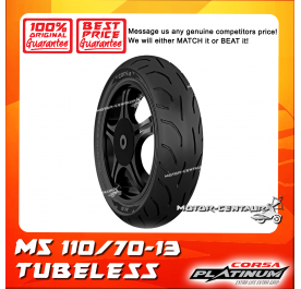 CORSA PLATINUM TUBELESS TYRE M5 110/70-13
