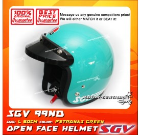 SGV HELMET 99ND PETRONAS GREEN