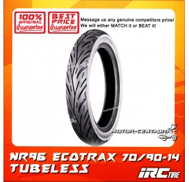 IRC TUBELESS TYRE ECOTRAX NR96 70/90-14