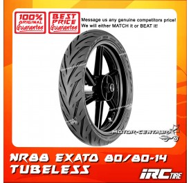 IRC TUBELESS TYRE EXATO NR88 80/80-14