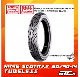 IRC TUBELESS TYRE ECOTRAX NR96 80/90-14