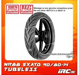 IRC TUBELESS TYRE EXATO NR88 90/80-14
