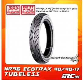 IRC TUBELESS TYRE ECOTRAX NR96 90/90-17