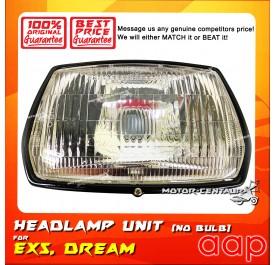 AAP HEADLIGHT UNIT (NO BULB) EX5 / DREAM