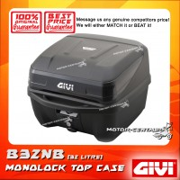 GIVI MONOLOCK TOP CASE B32NB BLACK REFLECTOR