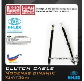 TSK CLUTCH CABLE 54011-R672 MODENAS DINAMIK