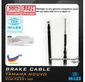 TSK FRONT BRAKE CABLE 5LW-F6351-00 YAMAHA NOUVO