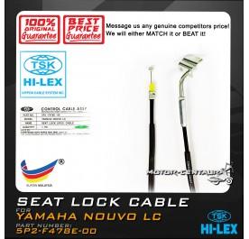 TSK SEAT LOCK CABLE 5P2-F478E-00 YAMAHA NOUVO LC