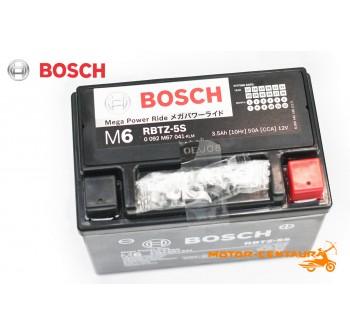 BOSCH VRLA AGM BATTERY M6 MEGA POWER RIDE RBTZ-5S (YTZ5S/GTZ4V)