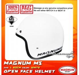 MAGNUM HELMET M5 WHITE L