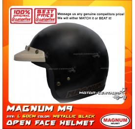 MAGNUM HELMET M9 (5 BUTTONS) BLACK L
