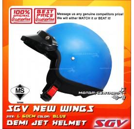 SGV HELMET NEW WINGS BLUE