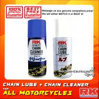 RK MOTORCYCLE CHAIN LUBE & CLEANER