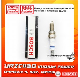 BOSCH IRIDIUM SPARK PLUG UR2CII30 [0 242 060 508] (CPR9EAIX-9, IU27, AB9R3I)