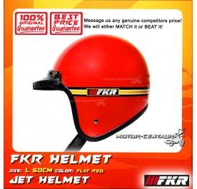 FKR HELMET RED