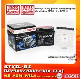 BOSCH VRLA AGM BATTERY M6 MEGA POWER RIDE BTX5L-BS (YTX5L/0092M68020)