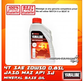 YAMALUBE (HLY) 4T ENGINE LUBRICANT SAE 20W50 (NEW ECONOMY PACK) [0.85L]