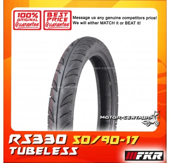 FKR TUBELESS TYRE D MONTE RS330 50/90-17