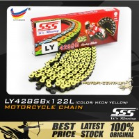 SSS CHAIN LY428SB X 122L YELLOW PLATED (OUTER LAYERS ONLY)