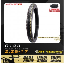 CMI RACING TYRE C123 2.25-17 + TUBE