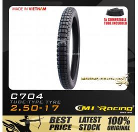 CMI RACING TYRE C704 2.50-17 + TUBE