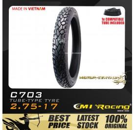 CMI RACING TYRE C703 80/90-17 + TUBE