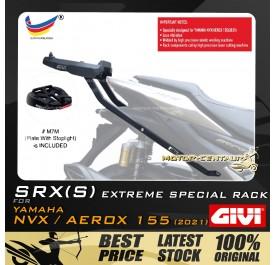 GIVI SPECIAL EXTREME RACK  (WITH LED) SRX(S) YAMAHA NVX/AEROX 155 2021