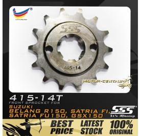 SSS FRONT SPROCKET STEEL BELANG 415-14T