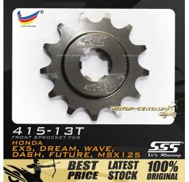 SSS FRONT SPROCKET STEEL EX5 415-13T