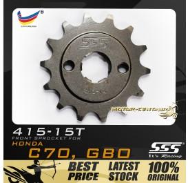 SSS FRONT SPROCKET STEEL GBO 415-14T