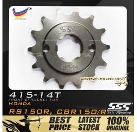 SSS FRONT SPROCKET STEEL RS150R 415-14T