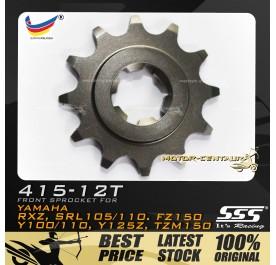 SSS FRONT SPROCKET STEEL RXZ 415-12T