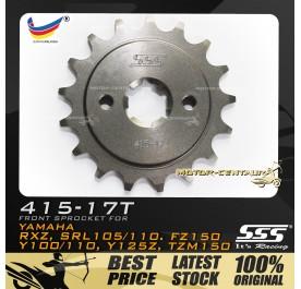 SSS FRONT SPROCKET STEEL RXZ 415-17T