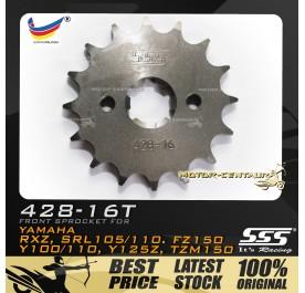 SSS FRONT SPROCKET STEEL RXZ 428-16T
