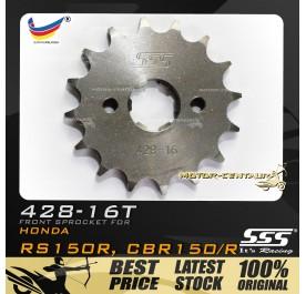 SSS FRONT SPROCKET STEEL RS150R 428-16T