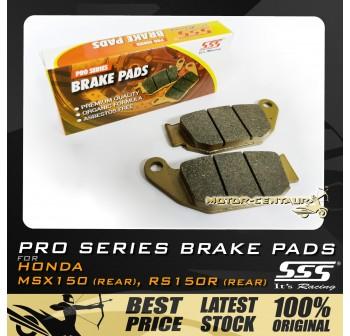 SSS DISC BRAKE PADS RS150R (RR)