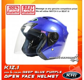 KHI HELMET K12.1 DEEP BLUE PURPLE