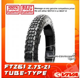 VIVA TUBE-TYPE TYRE FT261 2.75-21