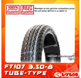 VIVA TUBE-TYPE TYRE FT107 3.50-8
