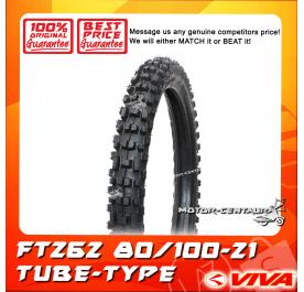 VIVA TUBE-TYPE TYRE FT262 80/100-21