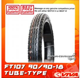VIVA TUBE-TYPE TYRE FT107 90/90-18