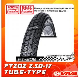 VIVA TUBE-TYPE TYRE FT202 2.50-17