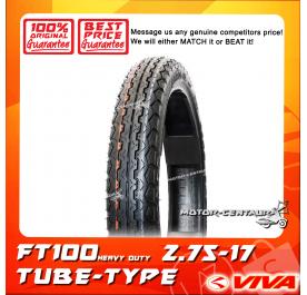 VIVA TUBE-TYPE TYRE FT100-HD 2.75-17