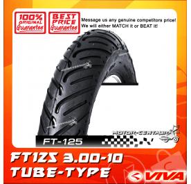 VIVA TUBE-TYPE TYRE FT125 3.00-10