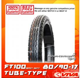 VIVA TUBE-TYPE TYRE FT100 80/90-17