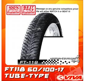 VIVA TUBE-TYPE TYRE FT118 60/100-17