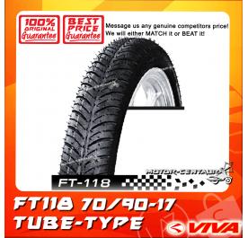 VIVA TUBE-TYPE TYRE FT118 70/90-17